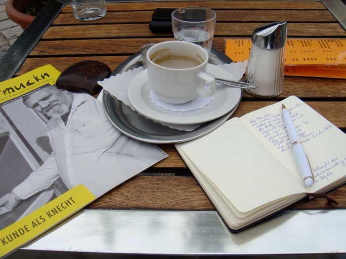 Cafe Terrasse Linz Meier