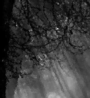 Regen am Fenster, Zug